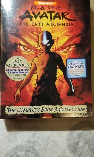 Nickelodeon Avatar The Last Airbender The Complete Book 3 Collectons DVD Brand New 全新未開封 USA versions (bought from USA)