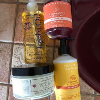 crabtree & evelyn body / hand care
