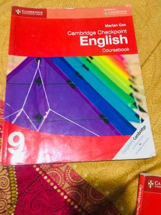 Cambridge IGCSE English coursebook