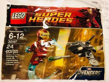 Lego Marvel Avengers Ironman 30167 ploybag