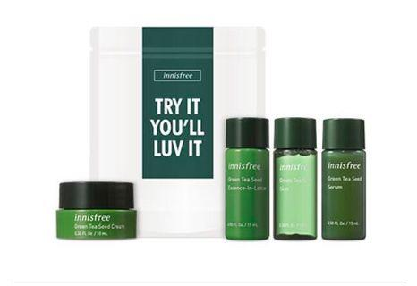 Innisfree Green Tea Hydration Trial Kit