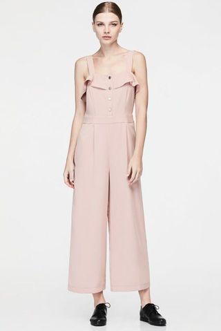 🚚 Iora Pink Blush Ruffle Jumpsuit #EndGameYourExcess