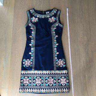 Anne klein flower work dress