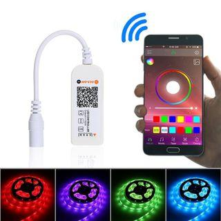 (J328) Wireless LED Controller 16.4Ft RGB LED Strip Lights - Self Collect Only