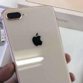 Iphone 8 plus 64GB Gold New Credit cepat guys