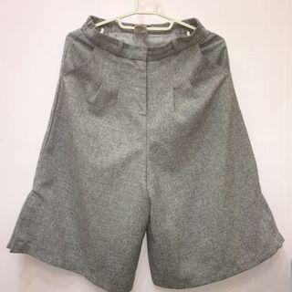 Pazzo古著灰色小男孩寬褲