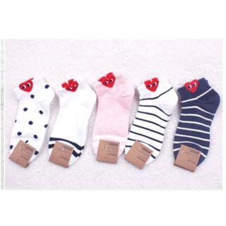 ( PO ) cute korean heart socks