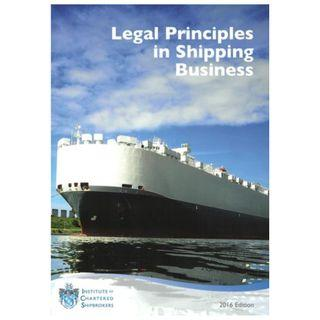🚚 ICS (Institute of Chartered Shipbrokers) Legal Principles in Shipping Business