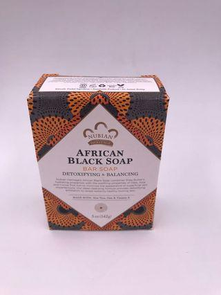 美國直送 Nubian Heritage African Black Soap 非洲黑皂(5 oz , 142g)