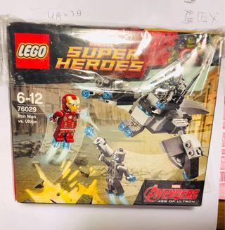 Lego Marvel Avengers Ironman 76029 box set 日本版