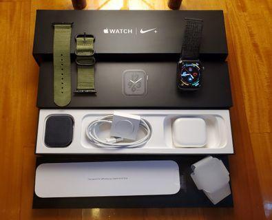 99% NEW Apple Watch Nike+ Series 4 44mm GPS