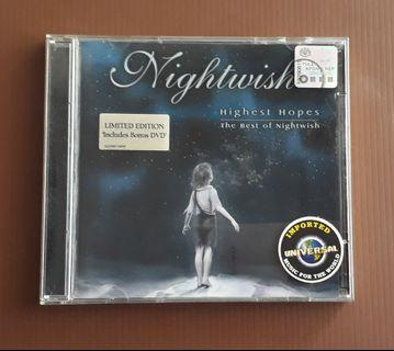 CD Nightwish - Highest Hopes,The Best Of ( Limited Edition CD+DVD,EUROPE PRESS )