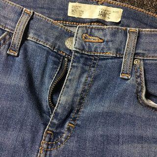 Authentic Topshop Ripped Jeans