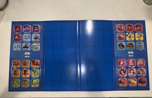 Woolworths Disney words and character tile set. 100% authentic