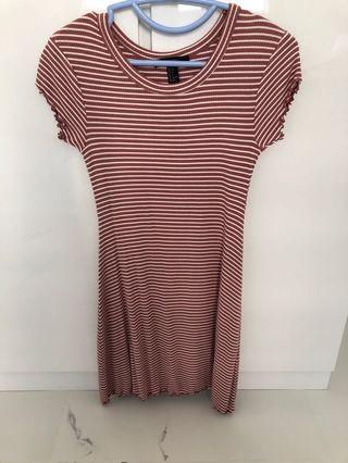 🚚 F21 Forever 21 Striped Dress in size s #ENDGAMEyourEXCESS