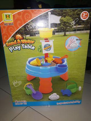 Sand&water play table