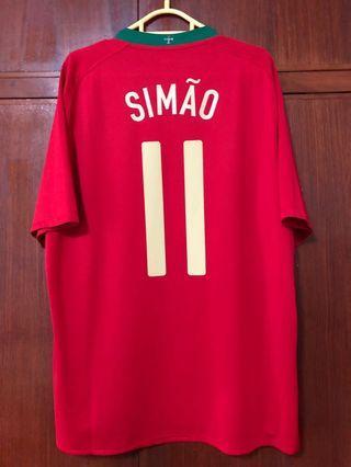 葡萄牙國家隊球衣 森馬奧 11號 Nike Portugal Jersey Simao