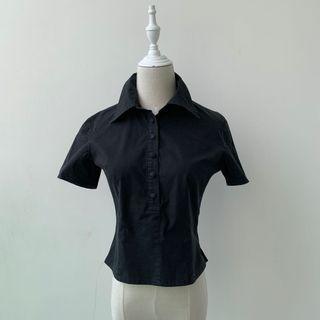 (Pre loved) Japan Brand black shirts  👚 #EndGameYourExcess