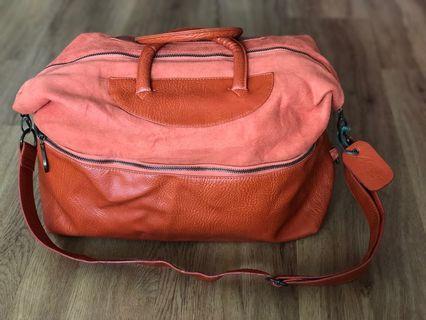 MEL Orange duffle / shoulder / handbag   #ENDGAMEyourEXCESS