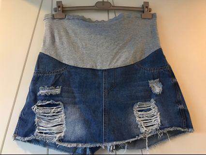 🚚 孕婦牛仔褲裙