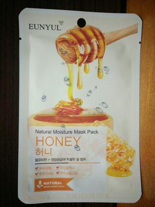 韓國EUNYUL~面膜(隨機10片90元)Q10/綠茶/馬油/蜂蜜