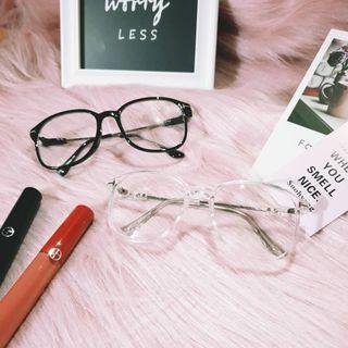 🚚 🐱Fussy Cat🐱經典大框金屬平光眼鏡 A193152
