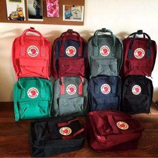 50% OFF SHIPPING!! Original Fjallraven Kanken Backpack (classic & mini)