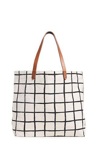 Madewell printed cloth tote