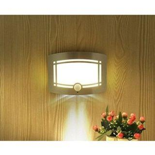 (J320) Bright Motion Sensor Activated LED Wall Sconce