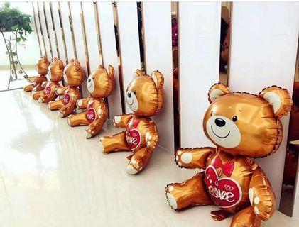 Chocolate Teddy Bear Balloon