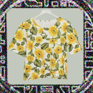 可愛太陽花✔T恤×古著×穿著讓你欣欣向榮