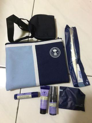 New authentic Neal's yard amenity kit