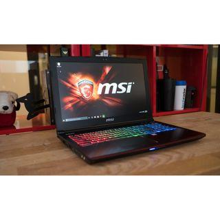MSI GE62 2QF Apache Pro Gaming Laptop