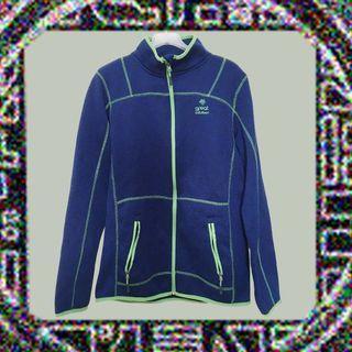 俗氣款✔外套×遮風不避雨×古著×螢光綠配寶藍