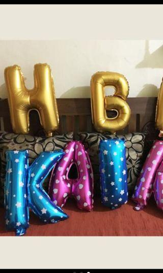 """Party Balloons Alphabet Number 16"""""""