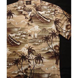 Vintage Aloha Shirt 夏威夷製 美式古著 夏日復古風 花襯衫 洋柄夏威夷襯衫 HAWAII Shirt