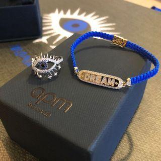 apm monoco box set ( ring + bracelet + tote bag ) 原價$2330