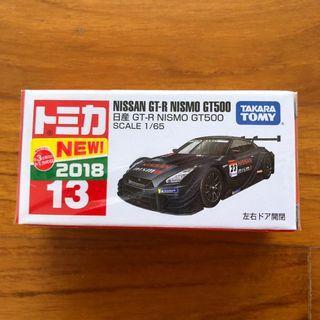 Tomica No. 13 Nissan GTR Nismo GT500 GT-R