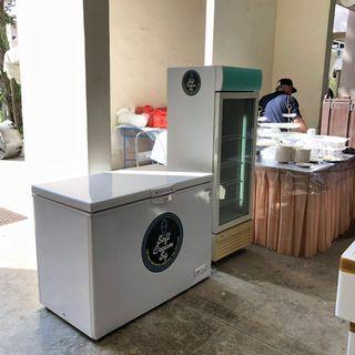 Chillers, Freezers, Counter Top chillers Display Chillers for Rent!