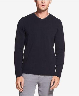 DKNY Jeans V neck Sweater 素面 V領毛衣 全新