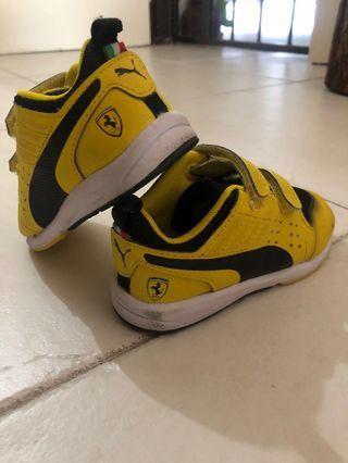 Authentic Puma Toddler Ferrari Shoes