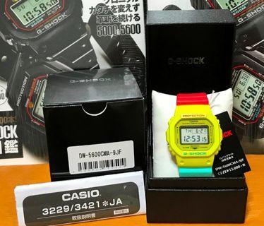 Casio G-Shock DW5600CMA-9JF (Japan Model) 🎗DW5600 🎗🎗🎗DW 5600 🎗DW5600CMA