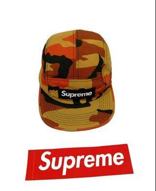 Supreme 6 Panel Camouflage