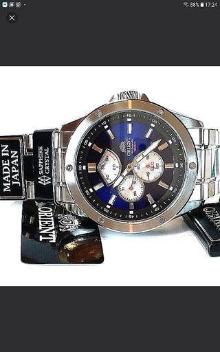 ORIENT 東方錶 ,日本製造 Made in Japan ,只在日本發售 ,全自動機械, 約43mm, 全新,full set