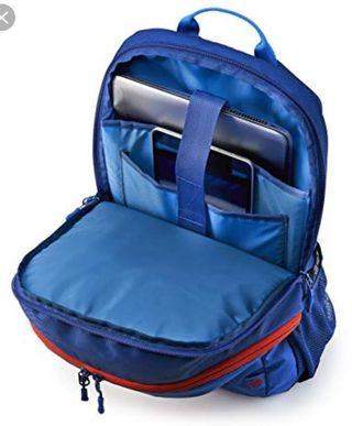 HP 15inch laptop sports backpack (blue/red)