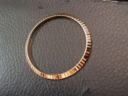 Rolex 18k Gold Bezel 36mm Datejust Day Date Watch