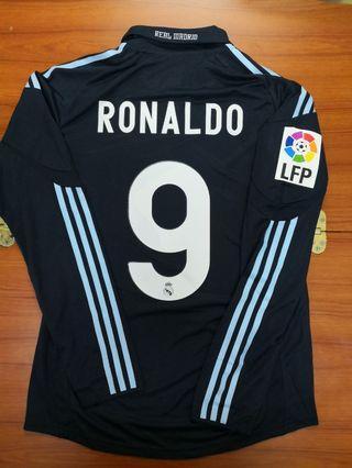 Real Madrid 皇家馬德里 09-10 away C Ronaldo Match issue