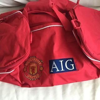 曼聯 MU AIG 全新旅行袋