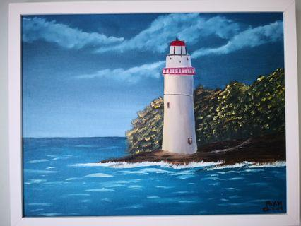 Hand painted in SG lighthouse painting