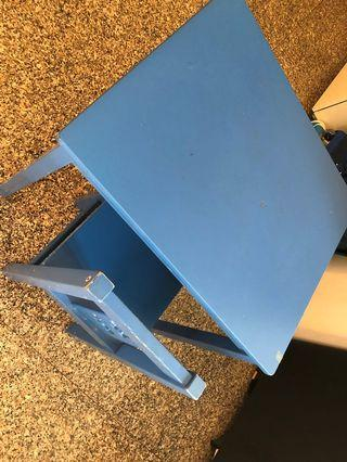 Kid Table and Chair blue